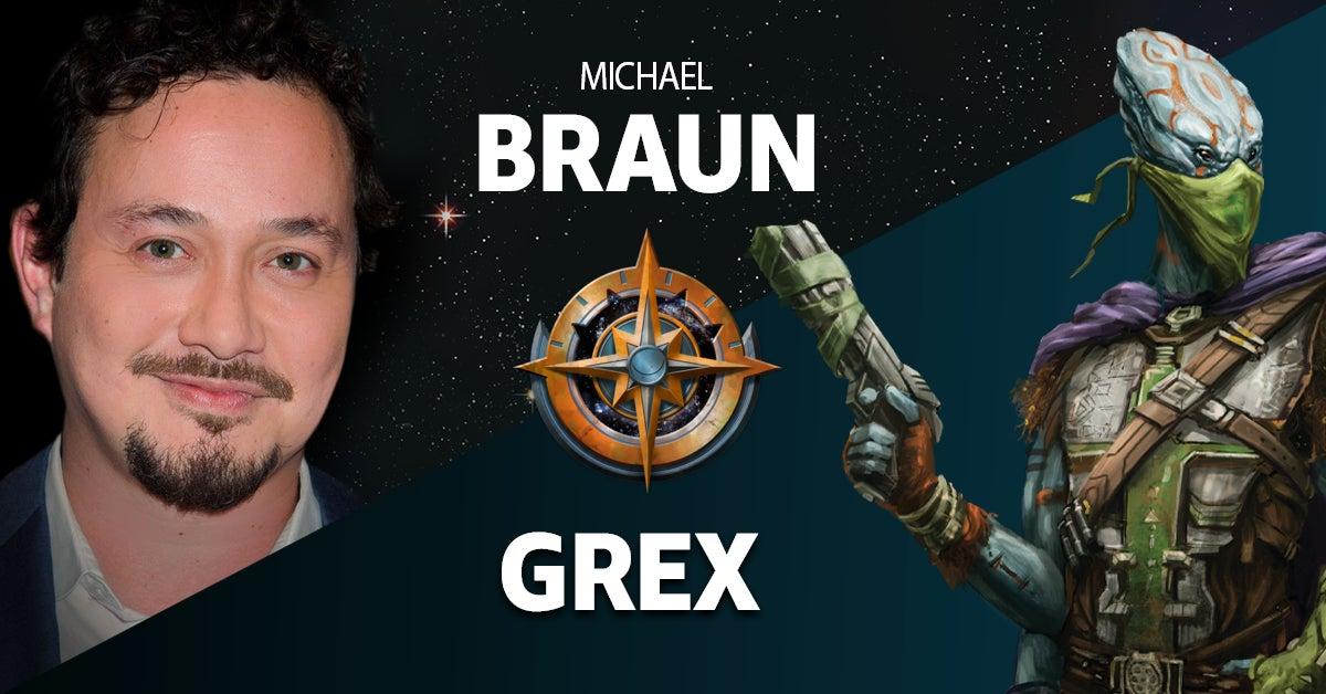 Michael Braun as Grex